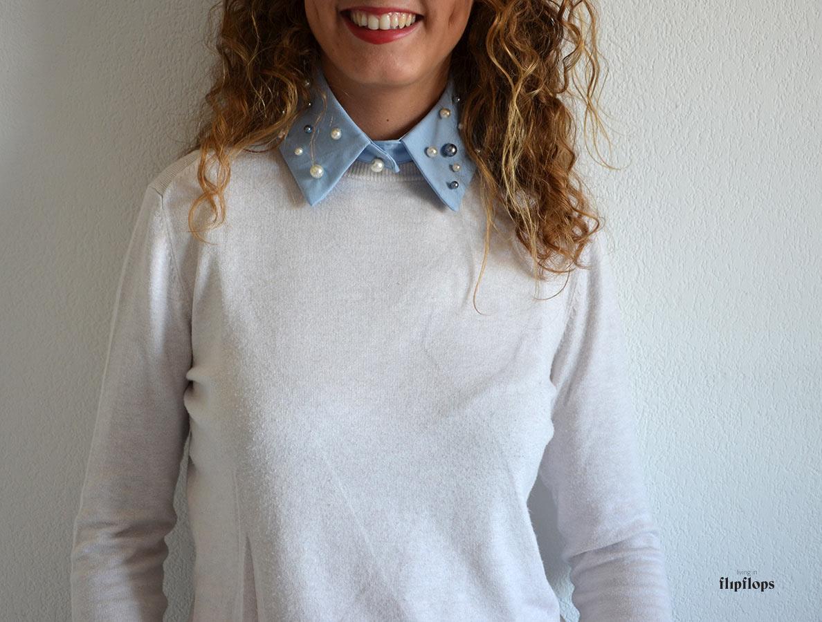 Cuello Postizo Camisa – Living in Flipflops