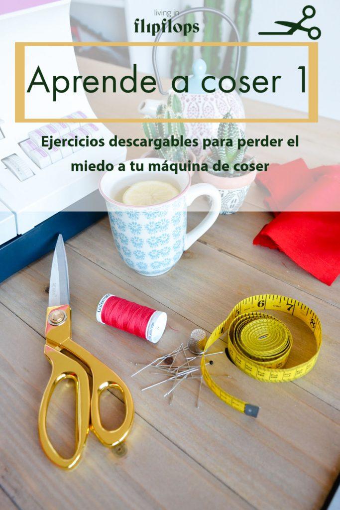 ejercicios para aprender a coser 1