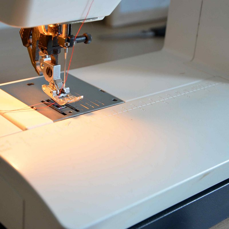Ejercicios para aprender a coser a máquina 2