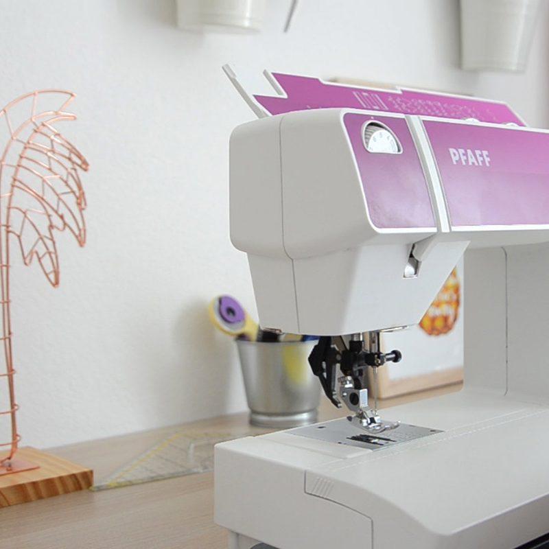 Ejercicios para aprender a coser a máquina 1