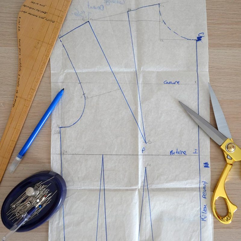 Pinzas de costura: ¿ Qué son? ¿ Cómo se cosen?