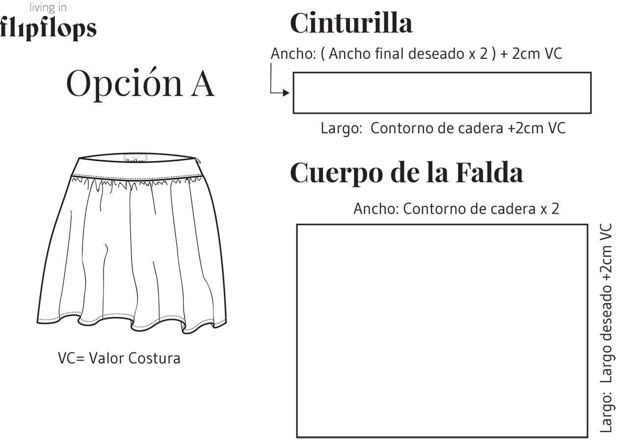 Como coser una mini falda fruncida – Living in Flipflops