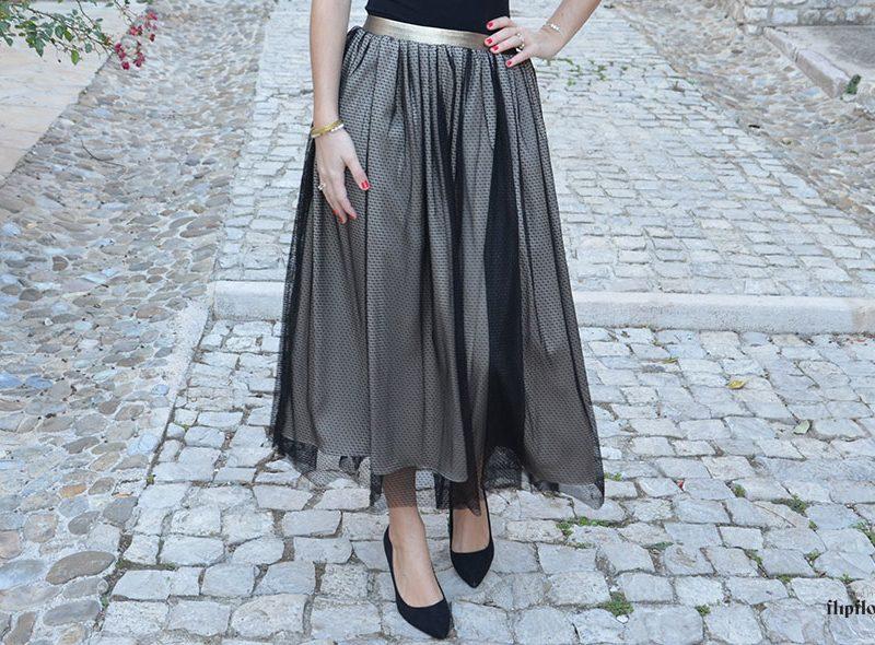 Coser Falda de tul paso a paso