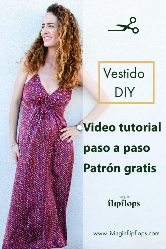vestido tendencia de verano patrón gratis vídeo tutorial