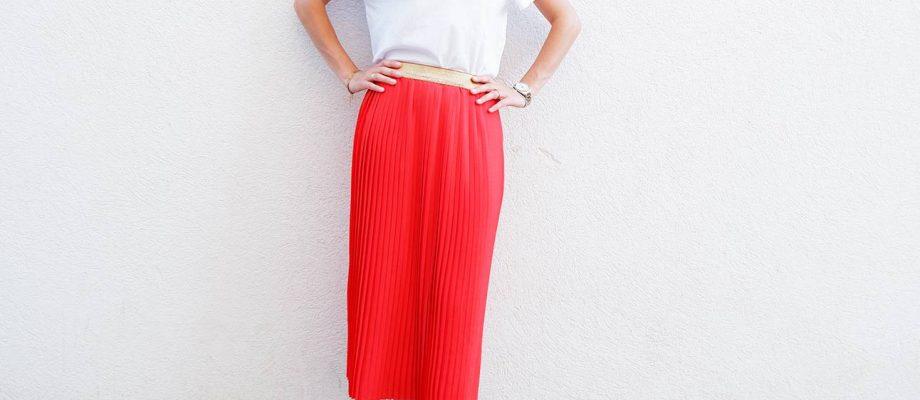 Como coser una falda plisada fácil y rápido