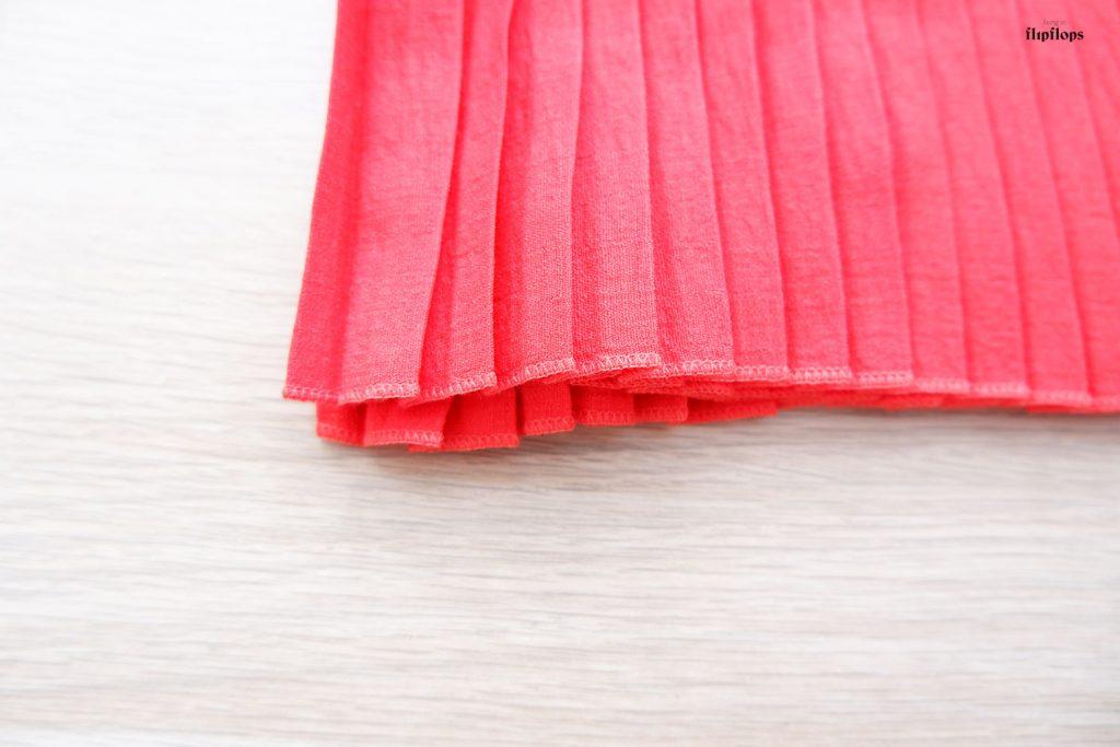 como coser una falda plisada por living in flipflops