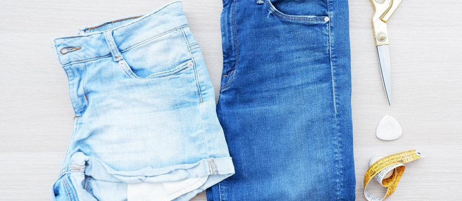 Como transformar tus vaqueros largos en shorts