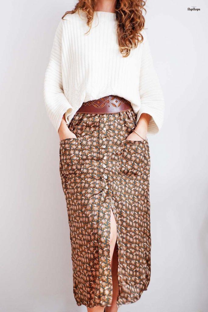 patrón de costura pdf falda Fénix