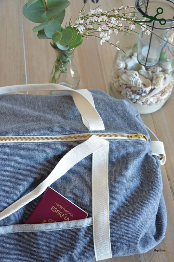 tutorial como coser una bolsa multiusos