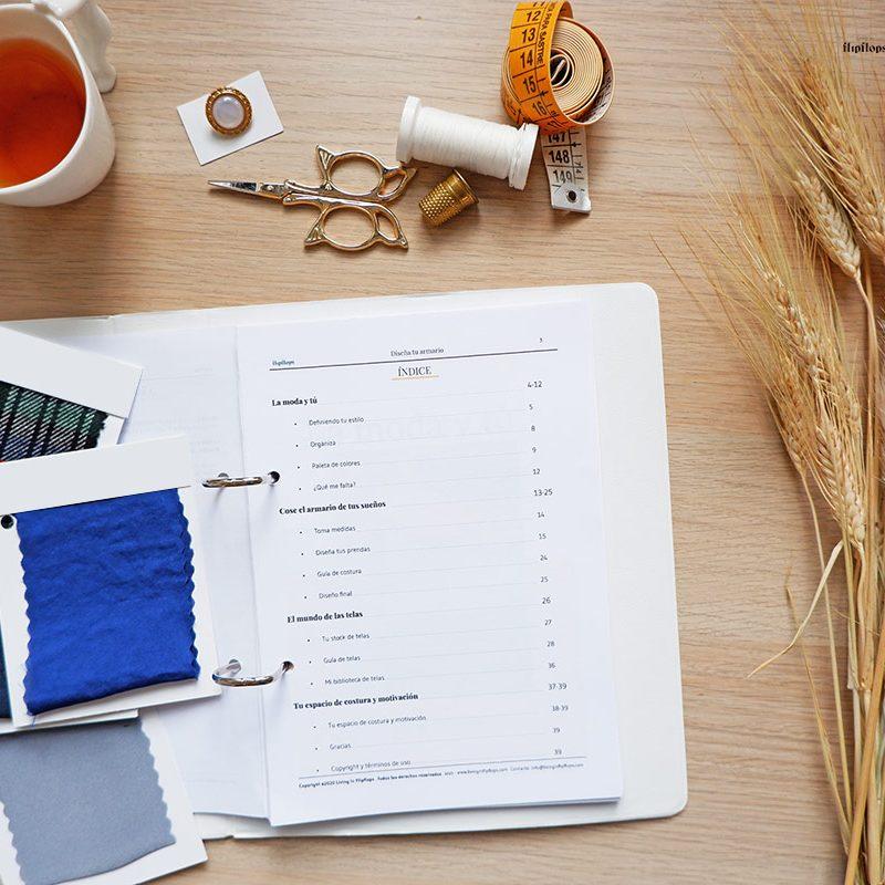 planificador de costura para proyectos de costura