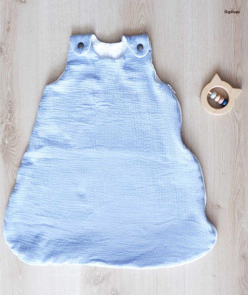 patrón de costura para bebés saco de dormir Dpuce Nuit de living in flipflops