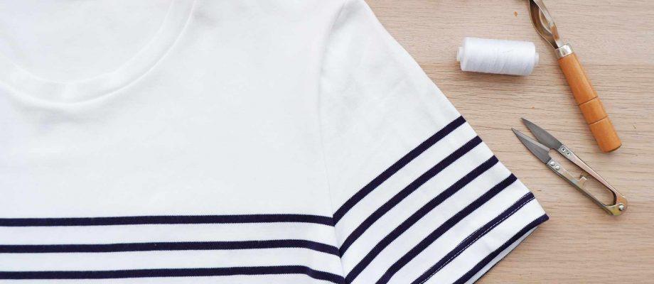 ¿Cómo casar rayas al coser ropa?